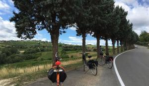 De Lisboa a Santiago con una bici eléctrica Askoll eB2, por el Camino de Santiago portugués.