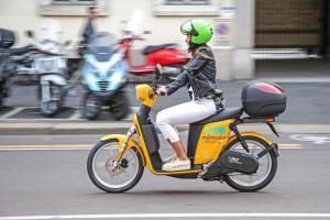 El scooter sharing de Askoll en Milán