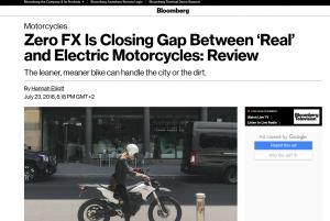 Zero Motorcycles en Bloomberg
