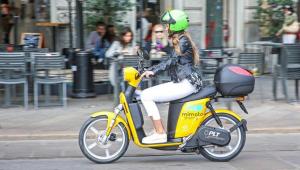 El 97% de los servicios de motosharing utilizan motos eléctricas.