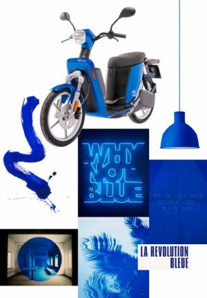 Nueva Askoll eS3 Azul eléctrico