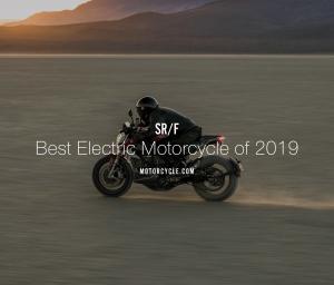 Zero SR/F mejor moto eléctrica en 2019
