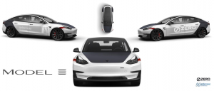 Next Motorbike viaja en Tesla