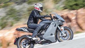 Test Zero Motorcycles SRS
