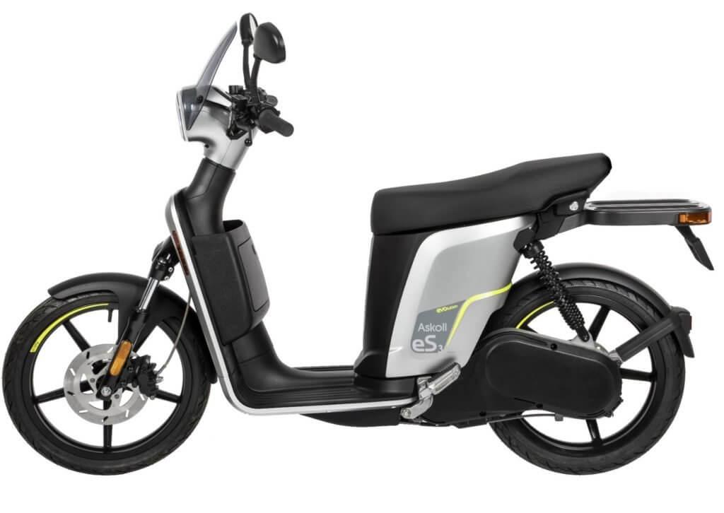 Scooter Eléctrico Askoll eS3 Evolution