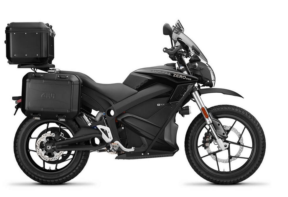 Moto eléctrica Zero DSR ZF14.4 Black Forest (MY2020)